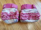 gDiapers Huge Lot 28 Medium Cloth Diapers w/ gPouches TONS of Rare Prints!!