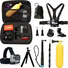 New Model GoPro HERO7 Black Action Camera Accessories Kit For Go Pro...