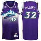 Karl Malone #32 Utah Jazz Purple Throwback Classic Swingman Jersey NEW
