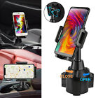 Adjustable Car Cup Holder Mount Stand Cradle For Universal Cell Phone iPhone