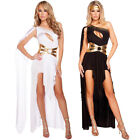 UK Sell Greek Goddess Roman Egyptian Women Cosplay Halloween Fancy Dress Costume
