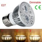 LED Spot Light Bulb Lamp Dimmable GU10/MR16/E27 Ultra Light lightweight Useful