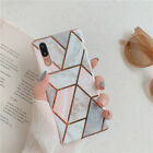 New Shockproof Geometry Plating phone Case For Huawei Mate20 P30 Pro P20 Lite