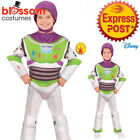 CK1468 Deluxe Buzz Lightyear Disney Toy Story 4 Boys Kid Child Book Week Costume