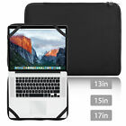 "13"" 15"" 17"" Laptop Sleeve Bag Cover Case For Macbook HP DELL Acer Notebook PC"