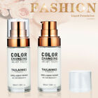 TLM Flawless Color Changing Foundation Makeup Base Face Liquid Cover Concealer