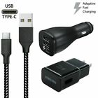 Original Samsung Galaxy S9 S8plus Note 8 Fast Car Wall Charger 6 Ft Type-C Cable
