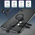 Dual Lightning Ring Holder Adapter USAMS 3.5mm Audio&charger Adjustable Phone