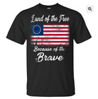 Patriotic Betsy Ross American Flag Shirt with 13 Stars T-Shirt