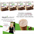 Nutrisystem TURBO Shakes CHOCOLATE Mix Digestive Health Diet Shake 4 Boxes 20ct