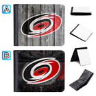 Carolina Hurricanes Leather Wallet Purse Credit Card Holder Bifold $9.99 USD on eBay