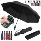 Automatic Compact Umbrella Windproof Auto Umbrella 3 Fold Waterproof Men Women