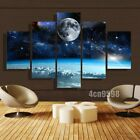 5 Panels Space Wall Artwork Home Decoration Wall Pictures For Living Room