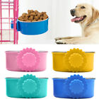 Pet Feeder Dog Stainless Steel Food Hanging Bowl Parrot Bird Cage Water Dish