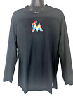 Miami Marlins Nike Authentic Perfomance Shirt