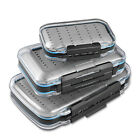 Waterproof Fly Box Two Sided Lightweight Transparent Fly Fishing Boxes Easy Grip