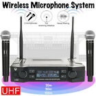 Kyпить Professional 2 Channel UHF Wireless Dual Microphone Cordless Handheld Mic System на еВаy.соm