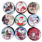 Christmas Candy Gift Metal box Gift Storage Containers With Lids Holiday Decor