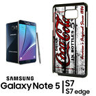 Coca Cola Vending Samsung Galaxy Note 8 9 S8 S9 S10 + Phone RUBBER Edge Case 2 $13.93  on eBay