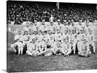 The 1919 Chicago White Sox at Comiskey Canvas Wall Art Print, Baseball Home on Ebay