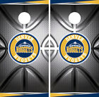 Denver Nuggets Cornhole Wrap NBA Decal Vinyl Metallic Gameboard Skin Set YD127 on eBay