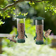 Twinkle Star Wild Bird Feeder Tube Feeder with Metal Handle Hanging for Outdoor photo