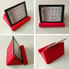 US Tablet Pillow Holder Stand Book Bed Sofa Reading Support Cushion For iPad New