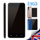 "5"" Android 6.0 Smart Cheap Mobile Phone Unlocked Quad Core+dual Sim Wifi Gps 3g"