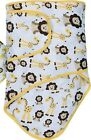 NEW Miracle Blanket Baby Swaddle Infant Wrap~Purple Owls~Yellow Lion~Cirque fler