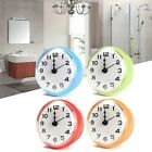 Waterproof Kitchen Bathroom Bath Shower Clock Suction Cup Sucker Wall US USA