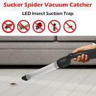 Insect Suction Trap Catcher Fly Bug Spider Vacuum Buster Pest Control LED 17