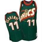 Detlef Schrempf #11 Seattle Supersonics Classic Green Throwback Swingman Jersey