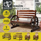 Gardeon Garden Bench Seat Outdoor Furniture Wooden Wagon Chair Backyard Lounge