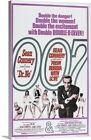 """""""Dr. No/From Russia With Love - Vintage Movie Poster"""" Canvas Art Print $150.15 CAD on eBay"""