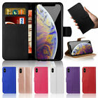 Leather Book Flip Phone Wallet Case Cover For ALL APPLE IPHONE CASE
