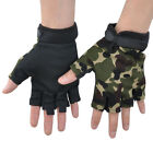 Unisex MilitaryTactical Anti-Slip Silicon Glovers Outdoor Sports Bike Bicycle US