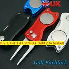 Golf Pitchfork Divot Repair Tool Putting Green Fork Pitch Groove Cleaner NEW