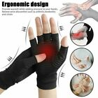 Pair Arthritis Gloves Sports Health Half Finger Recovery Therapeutic Compression $8.59 USD on eBay