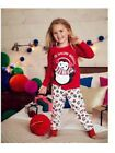NEW GIRLS EX AVON UP TO SNOW GOOD LONG CHRISTMAS PYJAMAS PAJAMAS PJs ~ Age 3-4