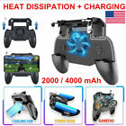 Mobile Gaming Controller Gamepad Cooling Fan Joystick For Android IOS Phone US
