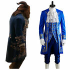 New 2019 Prince Adam Costume Beauty And The Beast Cosplay Adult Fancy Dress