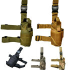Tactical Airsoft Hunting Pistol Gun Drop Leg Holster Military Army Camo Outdoor
