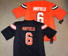Baker Mayfield #6 Cleveland Browns Mens Black Jersey $34.98 USD on eBay