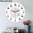 Vintage Wooden Wall Clock Large Shabby Chic Rustic Kitchen Home Antique Decor US