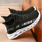 Kids Boys Girls Mesh Sports Athletic Running Shoes Lightweight School Trainers