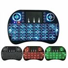 Mini 2.4G Wireless Keyboard Mouse Touchpad Color Backlit Air For Android TV i8