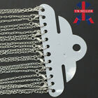 12 Silver Gold Plated Link Chain Necklaces Lobster Clasp Jewellery Making Crafts