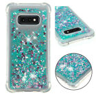 For Samsung Note10 Pro S8 S9 S10 Plus Note 8 9 Dynamic Liquid Glitter Bling Case