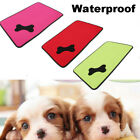 Waterproof Washable Cooling Cool Dog Bed Pet Cushion Mat Crate Cage Pad House UK