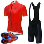 2020 Summer men cycling Jersey bib shorts set team bike clothing bicycle Outfits